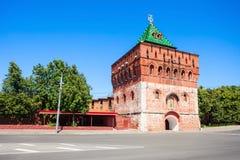 Nizhny Novgorod Кремль Стоковое Изображение