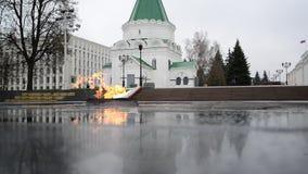 Nizhny Novgorod, Россия -02 11 2015 Вечное видеоматериал