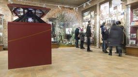 Nizhny Novgorod, Россия -02 11 2015 Выставка в башне Nikolskaya Кремля Стоковые Фото