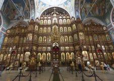Nizhny Novgorod, Россия - 03 11 2015 иконостас Стоковая Фотография RF