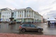 Nizhny Novgorod, Россия - 11-ое ноября 2015 главное здание академии медицины Стоковое Фото