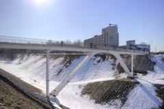 Nizhny Novgorod 都市的横向 库存照片