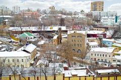 Nizhny Novgorod 都市风景 图库摄影