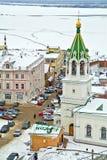 Nizhny Novgorod 都市风景 库存照片