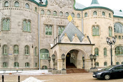 Nizhny Novgorod 都市风景 Russi国家银行的大厦  免版税图库摄影