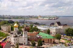 nizhny novgorod στοκ εικόνα με δικαίωμα ελεύθερης χρήσης