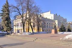 Nizhny Novgorod. Academic Drama Theatre Stock Photos