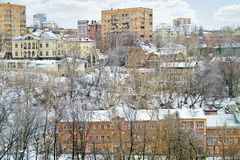 Nizhny Novgorod cityscapes fotografia stock libera da diritti