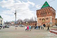 Nizhny Novgorod cityscapes Fotografering för Bildbyråer