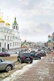 Nizhny Novgorod cityscapes Royaltyfria Foton