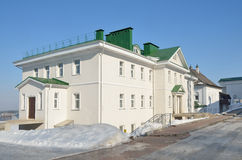 Nizhny Novgorod, fraternal and hospital corps of the Blagovestchtnsky monastery. In winter royalty free stock photos