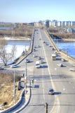 Nizhny Novgorod Horizontal urbain Images libres de droits