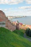 Nizhny Novgorod Kreml Arkivfoto