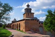 Nizhny Novgorod Kreml, klokketoren royalty-vrije stock afbeeldingen