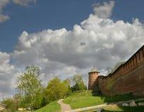 nizhny novgorod kremlin Башня Borisoglebskaya Стоковая Фотография RF