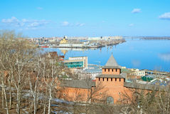 Nizhny Novgorod Kremlin Royalty Free Stock Photo