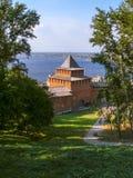 Nizhny Novgorod kremlin Fotos de archivo libres de regalías