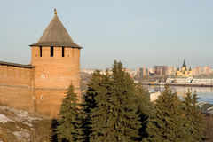 Nizhny Novgorod. Kremlin. Royalty Free Stock Photo