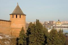 Nizhny Novgorod. Kremlin. royalty free stock photo