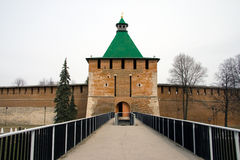 Nizhny Novgorod. Kremlin. Travel in Russia. Nizhny Novgorod. Kremlin. Tower Stock Image