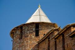 Nizhny Novgorod. Kremlin. Travel in Russia. Nizhny Novgorod. Kremlin. Tower Stock Images