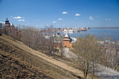 Nizhny Novgorod. Kremlin. Royalty Free Stock Images