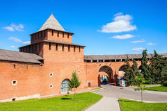 The Nizhny Novgorod Kremlin Royalty Free Stock Images