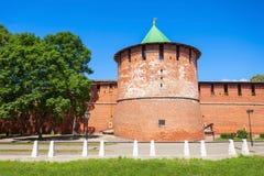 The Nizhny Novgorod Kremlin Stock Image