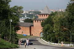 Nizhny Novgorod kremlin, Russia Stock Photo