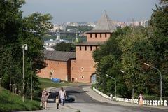 Nizhny Novgorod kremlin, Russia Stock Photo