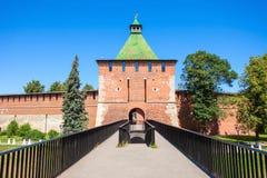 The Nizhny Novgorod Kremlin Stock Photography