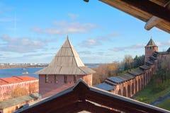 Nizhny Novgorod Kremlin Royalty Free Stock Image