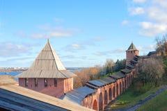 Nizhny Novgorod Kremlin Royalty Free Stock Photo