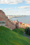 Nizhny Novgorod Kremlin Stock Photo