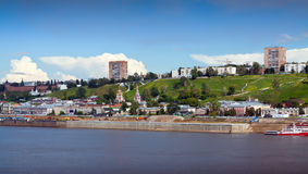 Nizhny Novgorod with Oka river. Russia Stock Photography