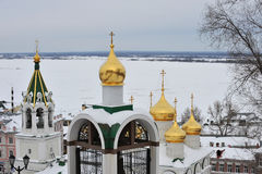 Nizhny Novgorod Royalty Free Stock Photography