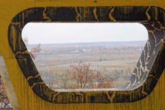 Nizhny Novgorod, Rússia - 13 de outubro 2016 Vidros de objeto da arte em Alexander Garden Imagens de Stock