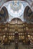 Nizhny Novgorod, Rosja - 03 11 2015 iconostasis Zdjęcie Royalty Free