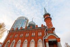 Nizhny Novgorod ROSJA, Listopad, - 04 2015 meczetu Obraz Stock