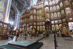Nizhny Novgorod, Rosja - 03 11 2015 Wnętrze Obraz Stock
