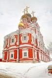 Nizhny Novgorod. Rozhdestvenskaya kyrka Royaltyfria Bilder