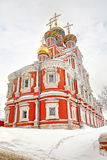 Nizhny Novgorod. Rozhdestvenskayakerk Royalty-vrije Stock Afbeeldingen