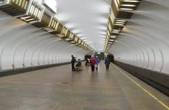 Nizhny Novgorod, RUSIA - 02 11 2015 El interior Imagen de archivo libre de regalías