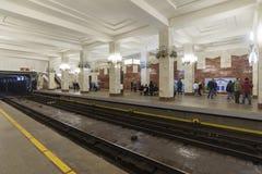 Nizhny Novgorod, RUSIA - 02 11 2015 Interior de Imagenes de archivo