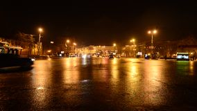 Nizhny Novgorod, Rusland -02 11 2015 De beweging stock video