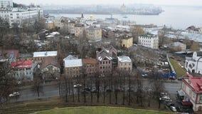 Nizhny Novgorod, Rusland -02 11 2015 Hoogste mening van stock video