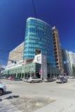 Nizhny Novgorod, Russia. - April 07.2016. Administrative and residential building on the street ULYANOVA. Royalty Free Stock Photography