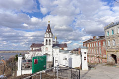Nizhny Novgorod, Russia. - April 22.2016. Church of Elijah the Prophet on the street Elias 9. Royalty Free Stock Image