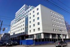 Nizhny Novgorod, Russia. - April 12.2016. Residential building under construction Royalty Free Stock Photo
