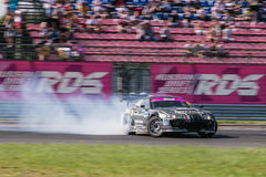 Nizhny Novgorod Russia Aug 20, 2016 : Russian Drift Series Stage 5 RDS Zapad West. Pavel Busigin. Toyota Supra Royalty Free Stock Images
